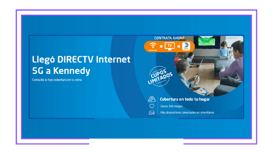 Colombia: DirecTV launches 5G Internet in Bogotá to supplement its Satellite TV service