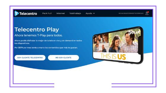 Argentina: Telecentro launches Telecentro Play for non-customers