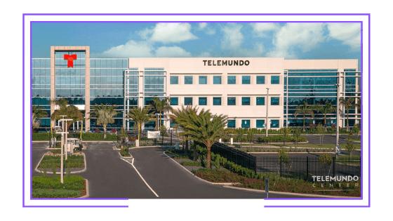 Global: Telemundo creates new studio to produce Spanish-language content for streaming platforms