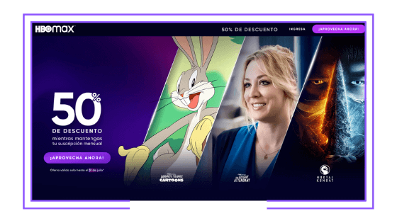 Latin America: HBO Max launches with 50% unlimited time discount for first wave of subscribers