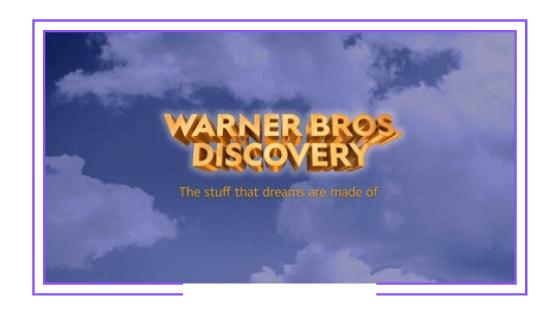 Global: Fusión entre WarnerMedia y Discovery ya tiene su propio nombre
