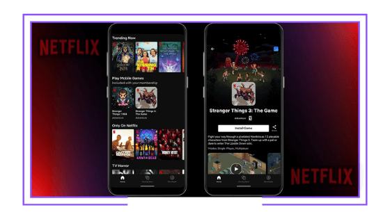 Global: Netflix tests its own videogames