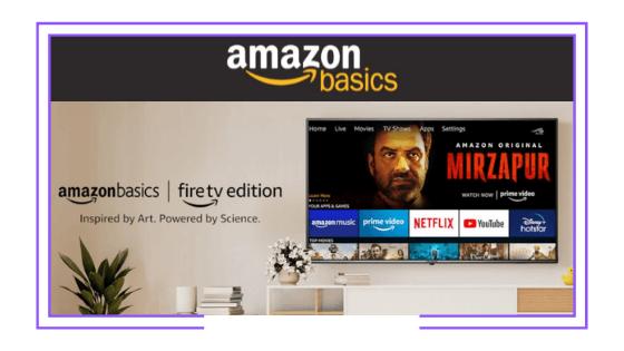 Global: Amazon avanza con su propia línea de smart TVs