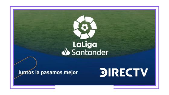 Latinoamérica: DirecTV transmitirá partidos de la liga española para no clientes